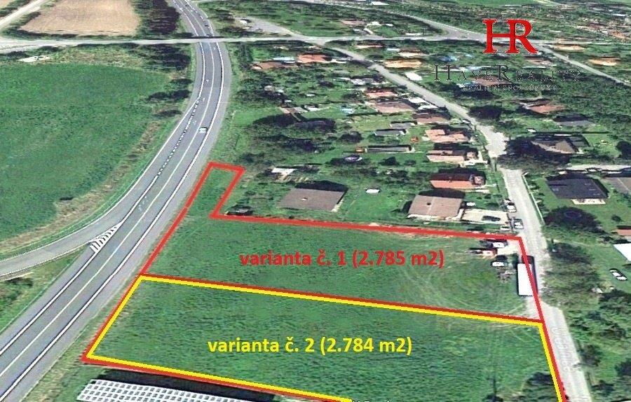 Prodej komerčního pozemku, 2.784 m2, Senohraby, okr. Praha -...