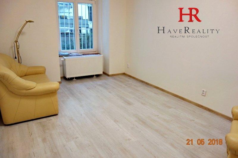 Pronájem bytu 1+1, 54 m2, cihla, Praha 2, Mánesova ul.